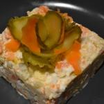 Salatka warzywna - ulubio...
