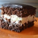 Biszkoptowe ciasto czekol...