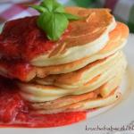 Pancakes z ricottą i...