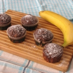Muffinki czekoladowo - ba...