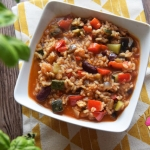 Paella z warzywami z pate...