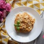 Spaghetti al pesto...