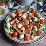 Salatka z figa i orzecham...