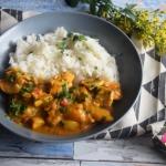 Curry z mango i kurczaka