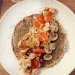 Razowy omlet z...