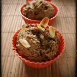Kawowo - bananowe muffiny...