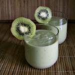 Koktajl avocado-kiwi