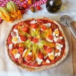 Razowa pizza z ricottą,...