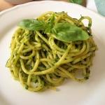 Spaghetti z salsą verde...