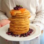 Dyniowo-jablkowe pancake ...