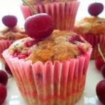 Muffiny wisniowo-czekolad...