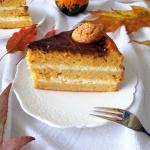 Tort dyniowo-migdałowy...