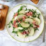 Salatka z rukola, jablkie...