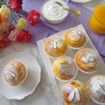 Puszyste muffiny z mango...