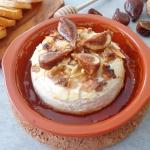 Pieczony camembert z orze...