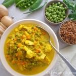 Wiosenne curry z kurczaki...