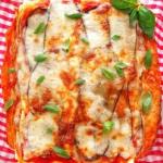 Lasagne  parmigiana  z...