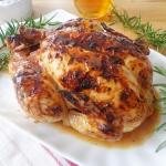 Kurczak pieczony w piwie...