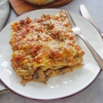 Lasagne z sosem...