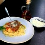 Spaghetti w bolońskim...