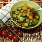 Warzywna zupka z przysmaz...