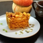Dyniowo-serowa lasagne