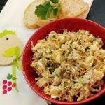 Jajeczno-sojowa salatka