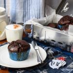 Kakaowe muffiny z marshma...