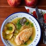 Kurczak w sosie jablkowym...