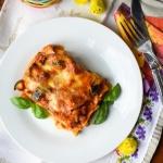 Warzywna lasagne z...