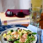 Salatka z ryzem i krewetk...