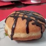 Paczki z kakaowym lukrem....
