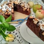 Ciasto kakaowe z jablkami...