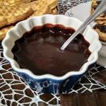 Krem czekoladowo - banano...