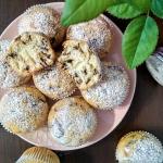 Muffinki z platkami czeko...