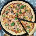 Pizza z bobem i...