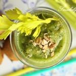 Zielony koktajl z kiwi,...