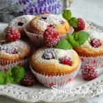 Malinowe muffinki z...