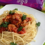 Spaghetti z mięsnymi...