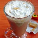 Mleczna kawa krówka