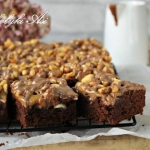 Brownie ala Snickers
