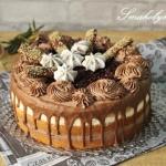 Tort michałkowo-kokosowy