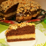 Czekoladowe ciasto z krak...