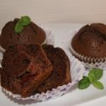 Czekoladowe muffinki z dz...