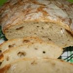 Chlebek pszenny na zakwas...