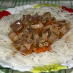 Makaron ryżowy z...