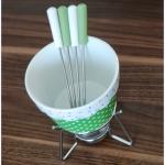 Test zestawu do fondue z...