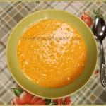 Zupa krem z dyni z lanymi...