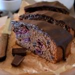 Czekoladowe ciasto z wisn...