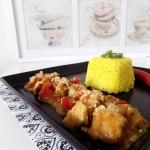 Pikantny kurczak curry w...